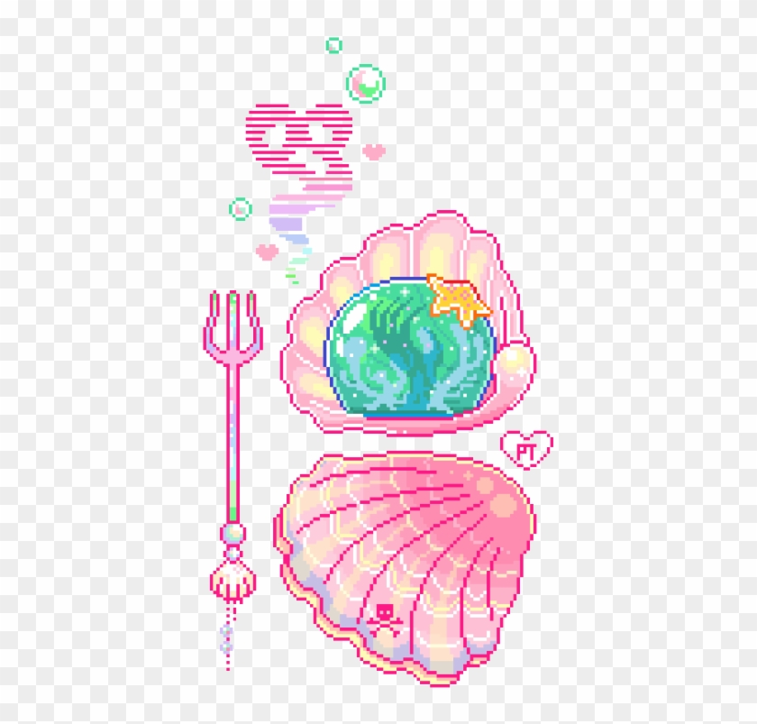 Sea Tmblr Tumblr Cute Kawaii Kawaii Cute Soft Pixel