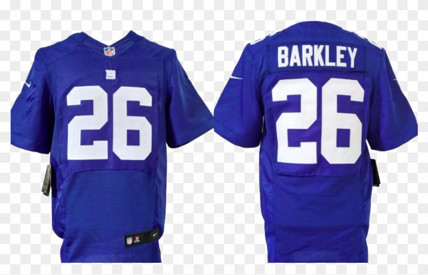 lowest price d6b43 d30cc New York Giants Jersey - Saquon Barkley Elite Jersey, HD Png ...
