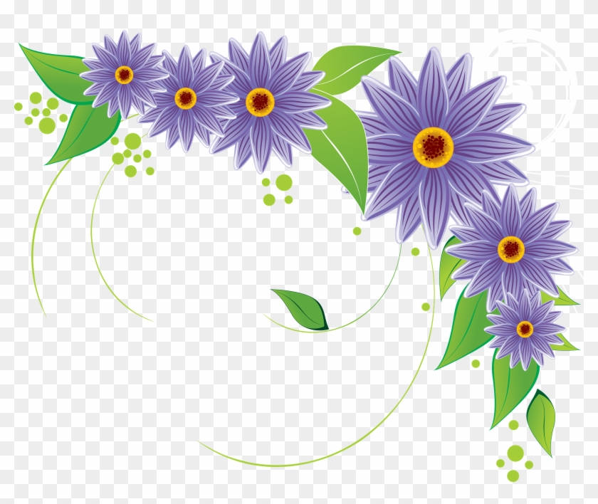 Flower Vectors Various Png , Free Vector Flowers Png