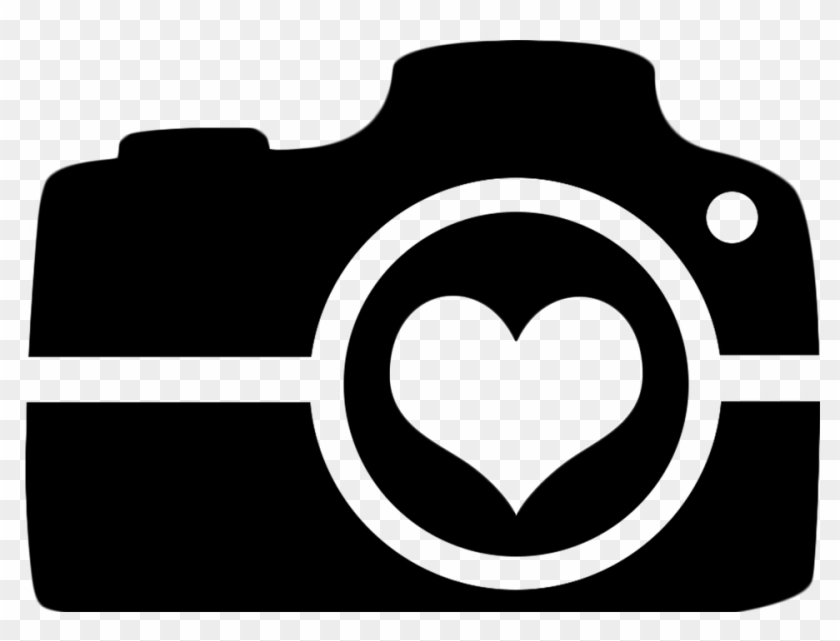 Photography Camera Logo Taking Photo Camera With Heart Svg Hd Png Download 960x687 19772 Pinpng