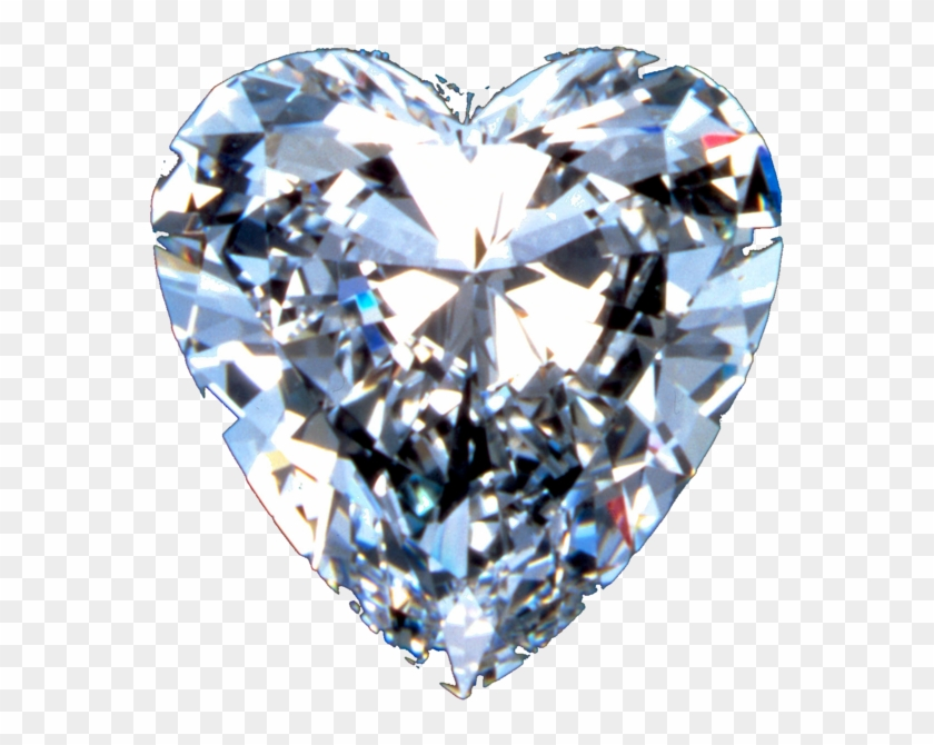 Download Image - Diamond Heart Transparent Background, HD