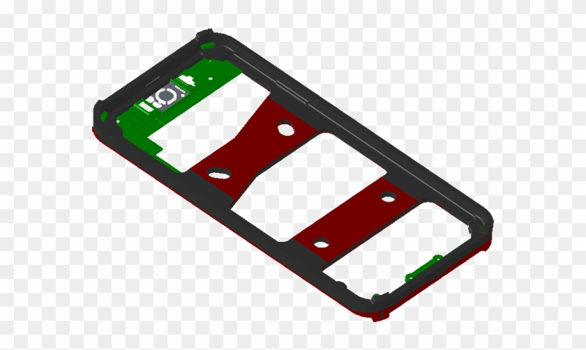 Mobile Frame - Mobile Phone Case, HD Png Download - 700x477