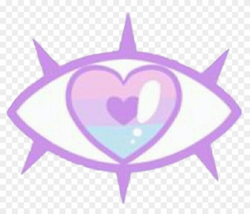Pastelgoth Eye Queen Pastel Creepy Kawaii Cute Illustration Hd