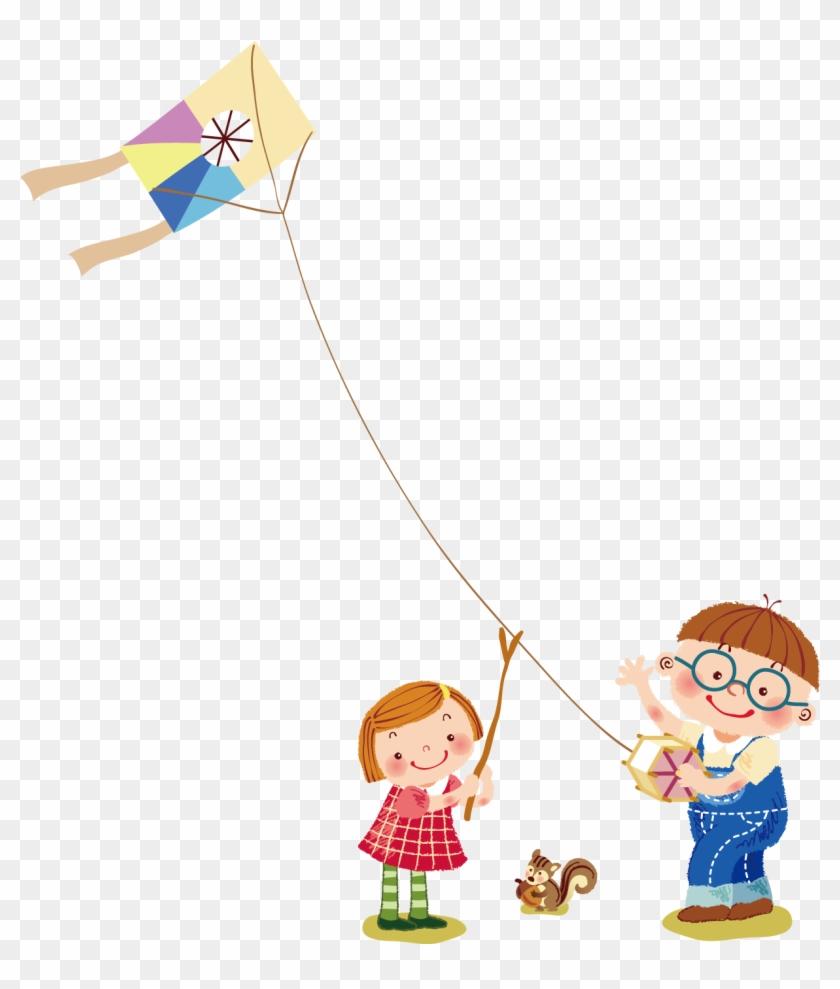 Kite Clipart Kite Runner Cartoon Flying Kites Png Transparent