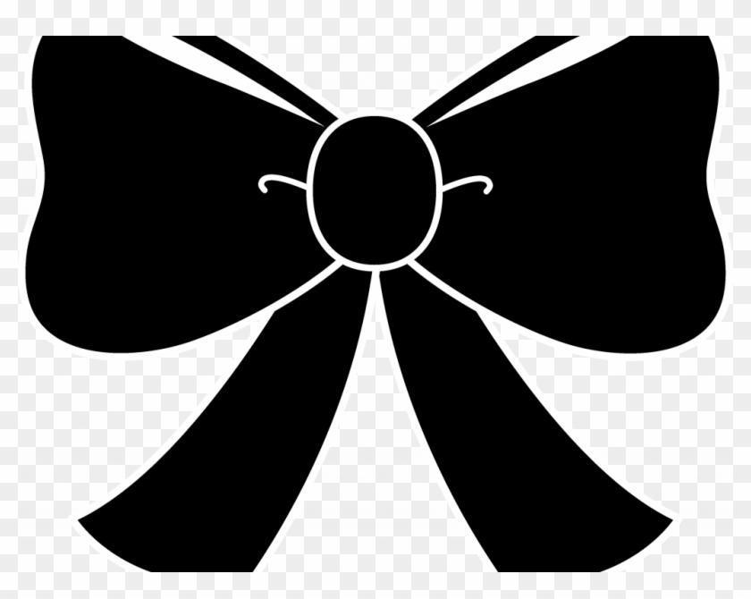 Bow hair. Download clip art black