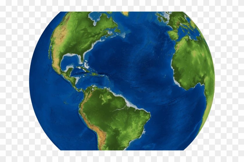 Real World Clipart Earth Transparent Background - Earth Pic