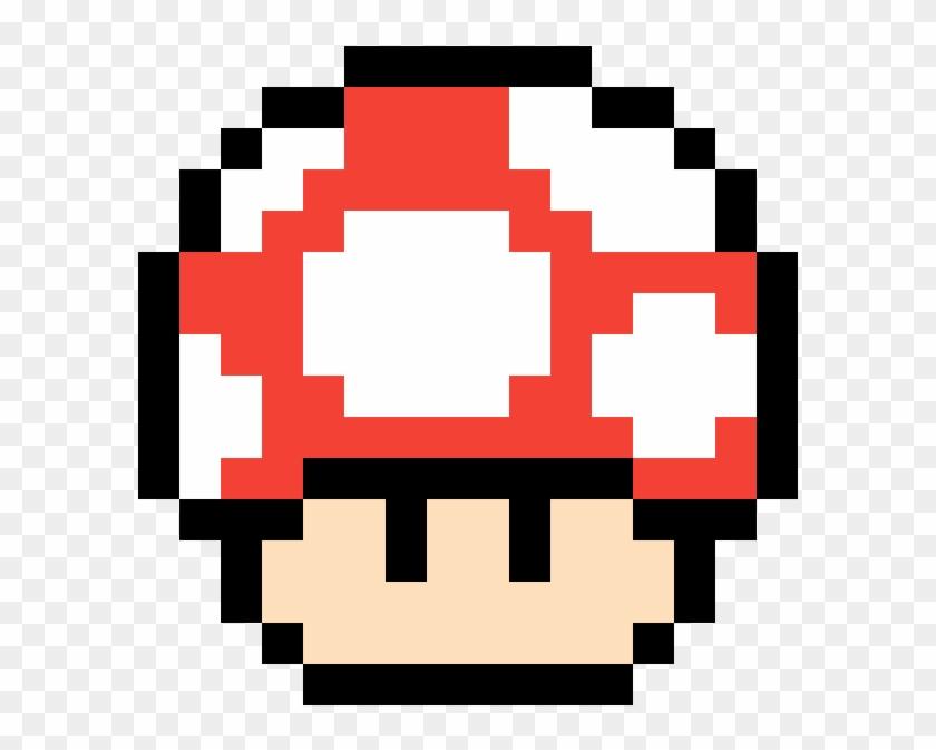 Mario Mushroom Pixel Mario Mushroom Gif Hd Png Download