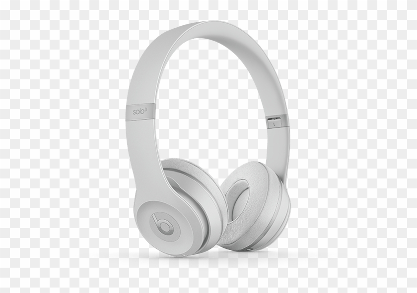 Headphone Png Beats Solo 3 Wireless Silver Transparent Png 600x600 1187703 Pinpng