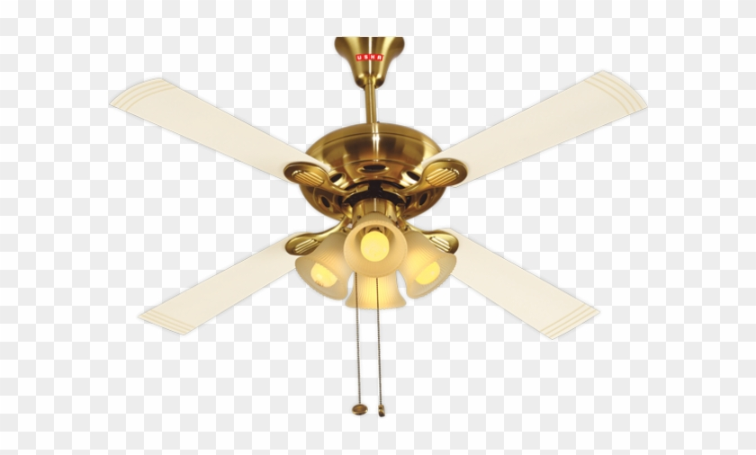 Usha Ceiling Fan With Light Hd Png Download 600x750 1197937 Pinpng