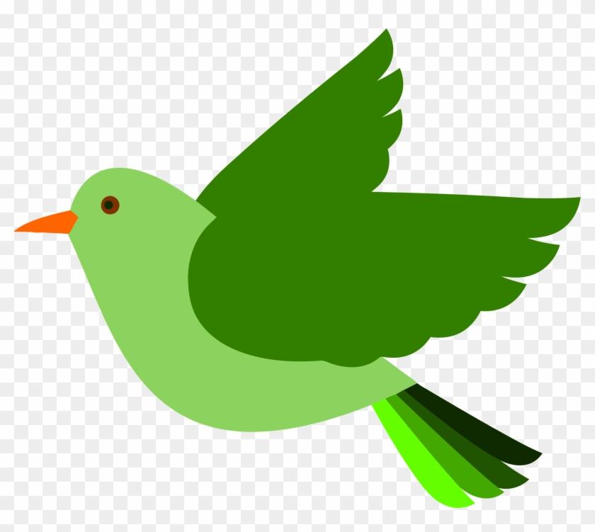 Flying Bird Clipart Png, Transparent Png - 2162x1830 (#1198256) - PinPng
