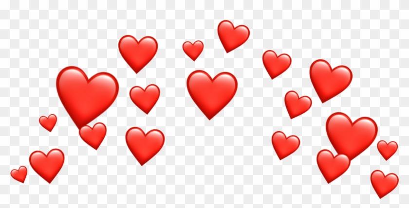 freetoedit#crown #heart #hearts #emoji #emojis #tumblr - Heart Emoji