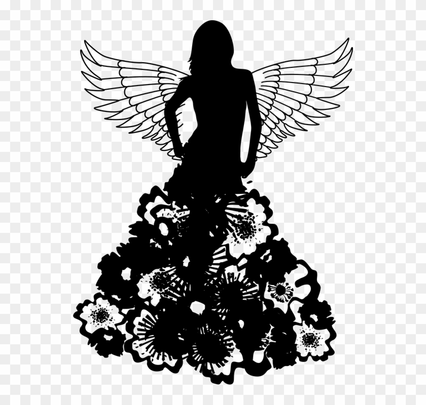 angel silhouette png