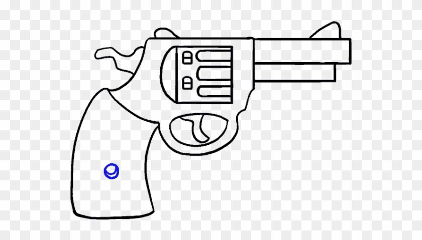 Cartoon Gun Easy Cartoon Gun Drawing Hd Png Download