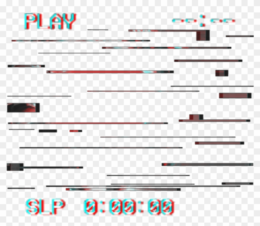 Glitch ❤ - Transparent Vhs Overlay Png, Png Download