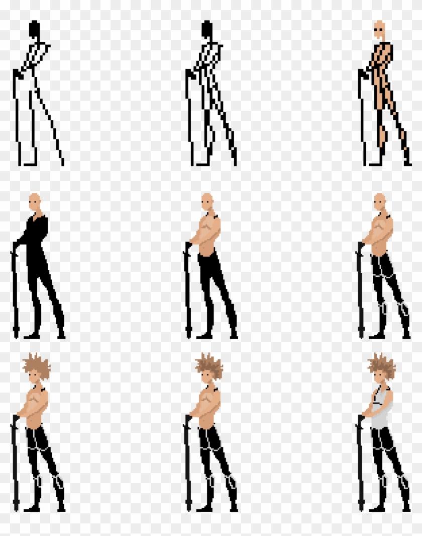 Pixel Art 64x64 Character, HD Png Download - 3072x3072