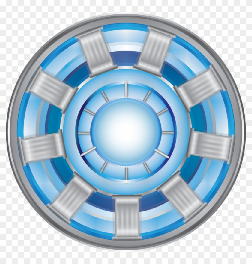 Iron Man Chest Logo Png - Reactor Iron Man Vector