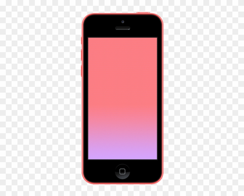 Iphone 5c Vector Mockup Apple Iphone Vector Png Transparent Png