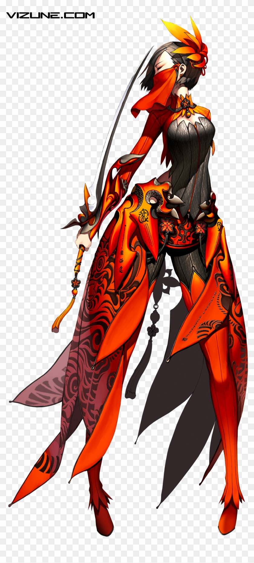 Or - Blade & Soul Png, Transparent Png - 1649x3407 (#1326855