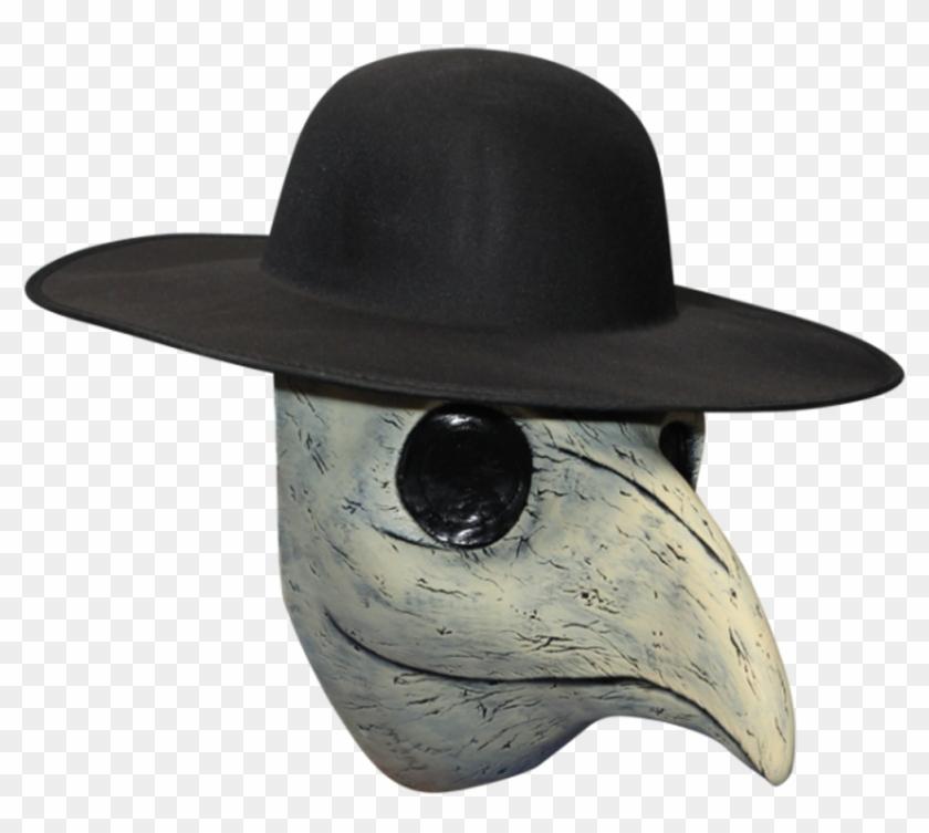 0b8fe29e8 Peste Di Venezia Death Doctor Latex Mask N' Hat Black - Plague ...