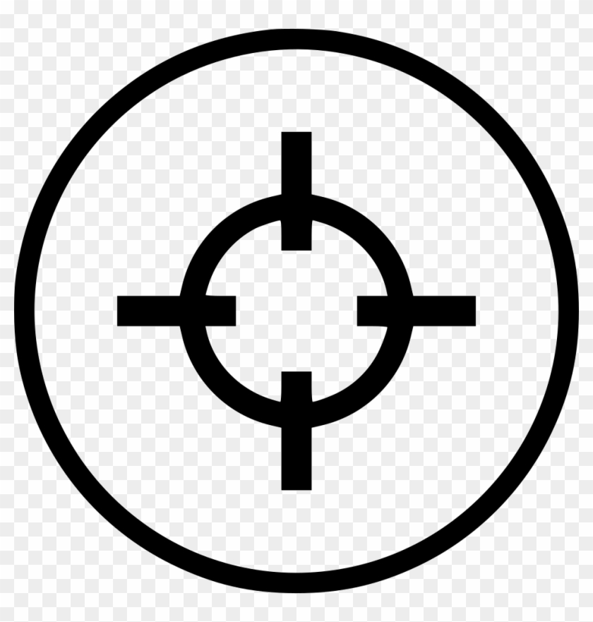 Target Pointer Aim Cursor Round Comments Aim Icon Png
