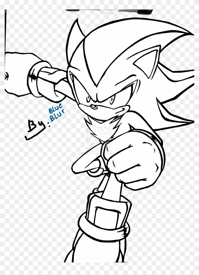 - Coloring Pages Super Sonicring Pages To Print Image - Sonic And