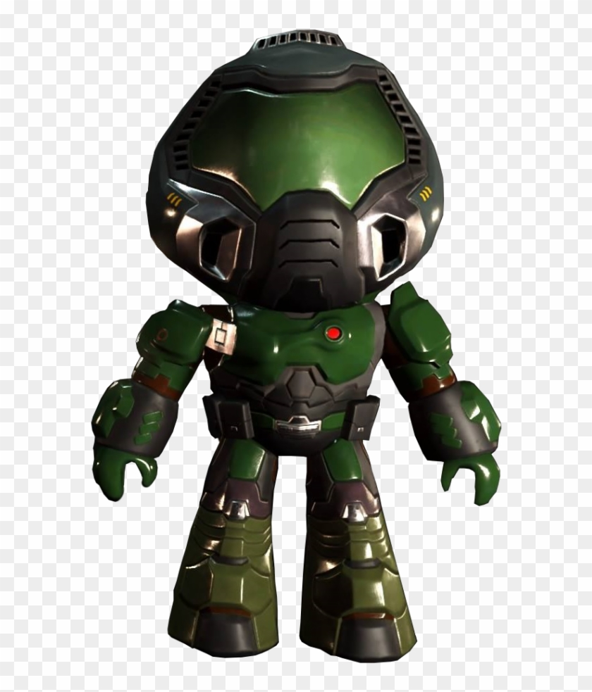 Anyone Wanna Rp With Regular Size Doom Slayer Or Accidently