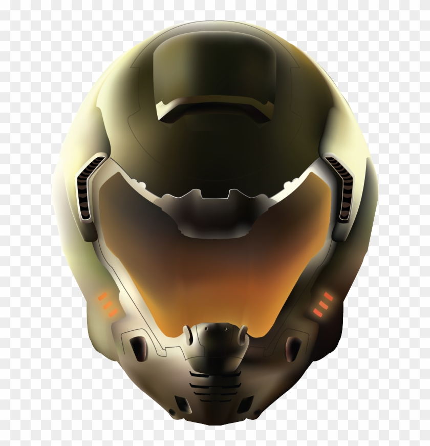 Doom Slayer Helmet Png Transparent Png 640x791 1384293 Pinpng