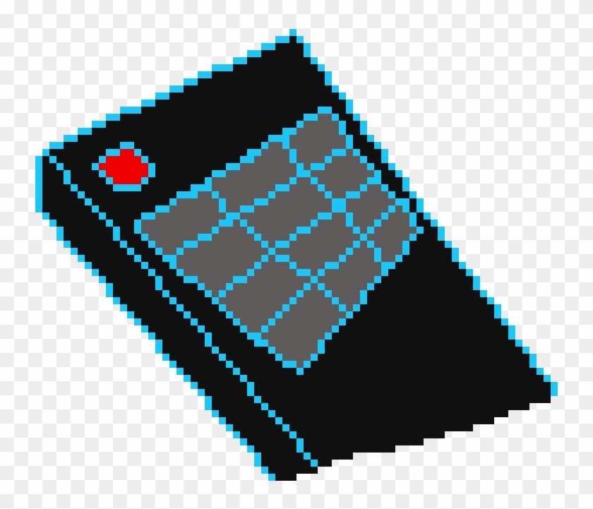 Pixel Art Tv Remote, HD Png Download