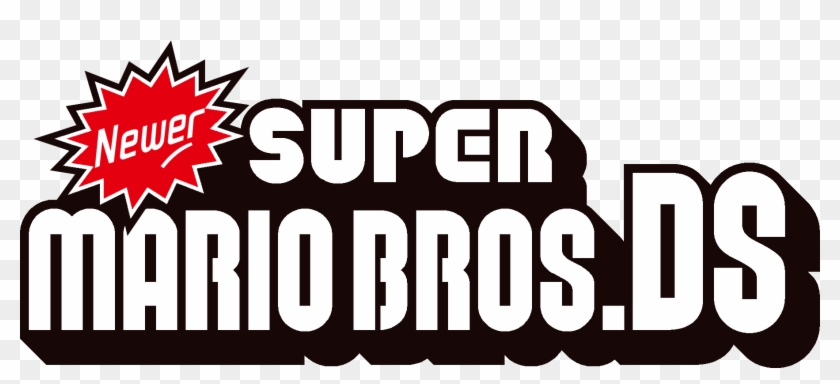 New Fan Created Super Mario Bros Newer Super Mario Bros Ds Logo
