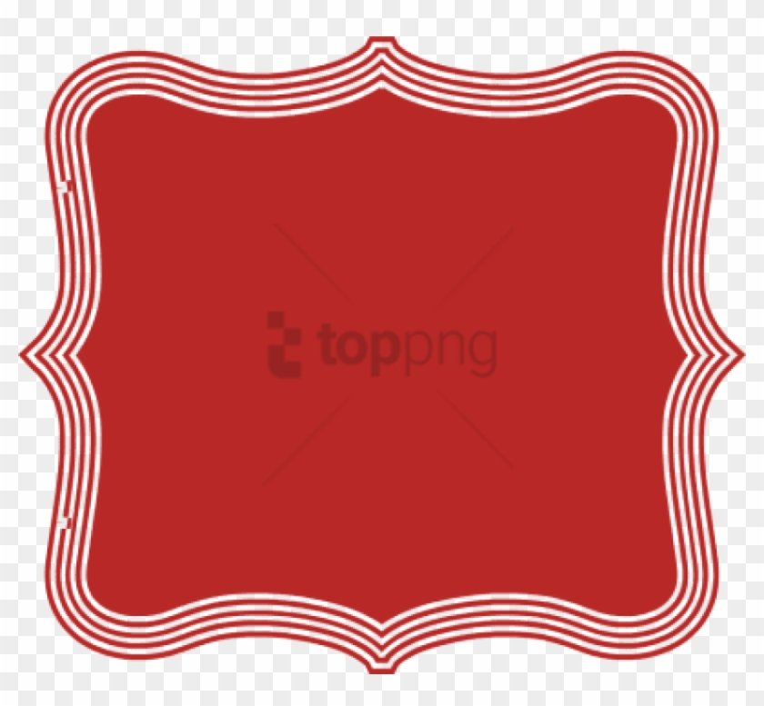 Free Png Decorative Text Box Red Png Image With Transparent
