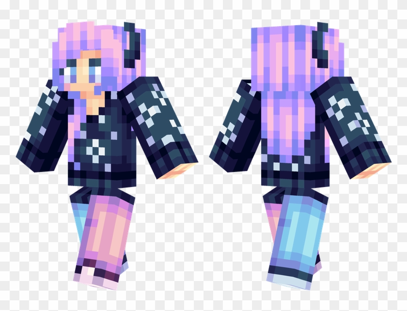 Minecraft Skins Detailed Ombre Png Download Minecraft Pocket Edition Transparent Png 782x562 1433728 Pinpng