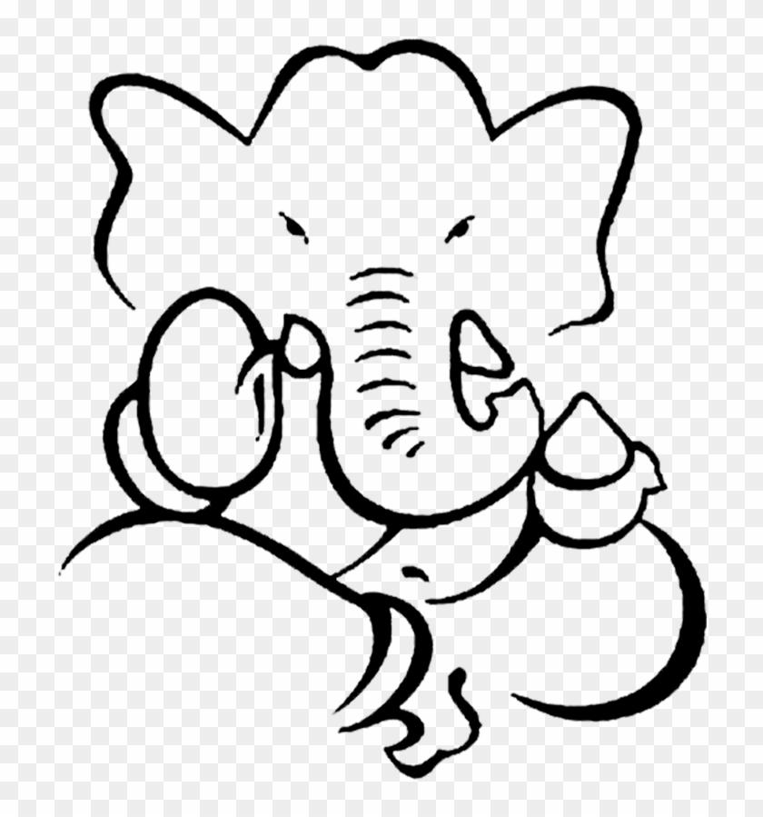 Ganesha Lord Ganesha Sketch Hd Png Download 787x1063 1463732 Pinpng