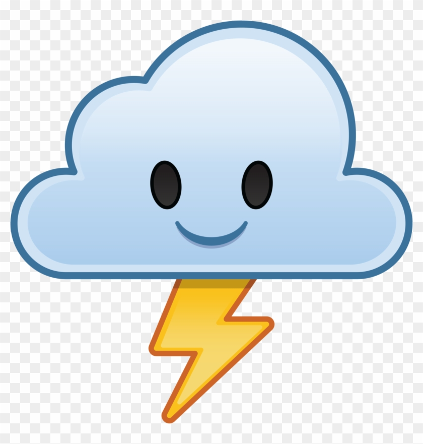 Lightning Emoji Png - Disney Emoji Blitz Cloud, Transparent
