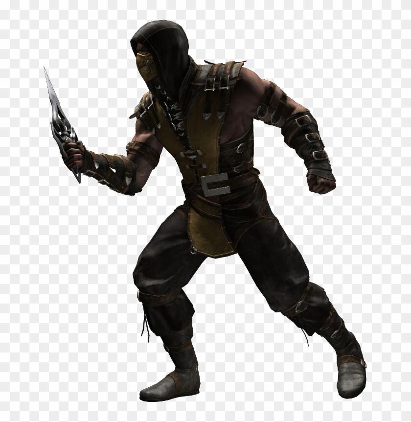 Mk Scorpion Png Sub Zero Mortal Kombat X Png Transparent Png