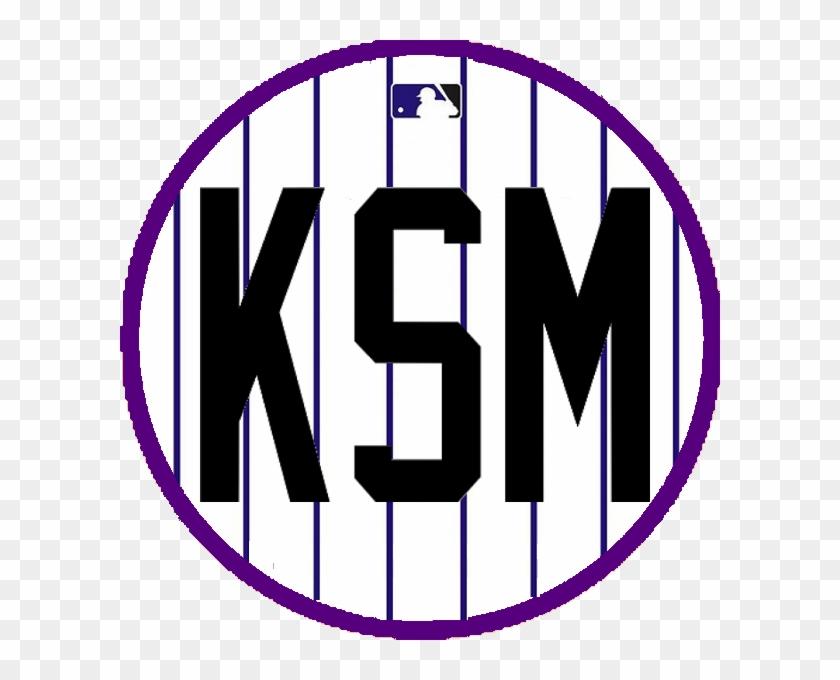 Rockies Retired Ksm - Major League Baseball Logo, HD Png ...