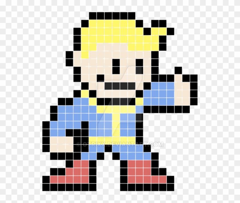 8 Bit Link Png - Vault Boy Pixel Art, Transparent Png