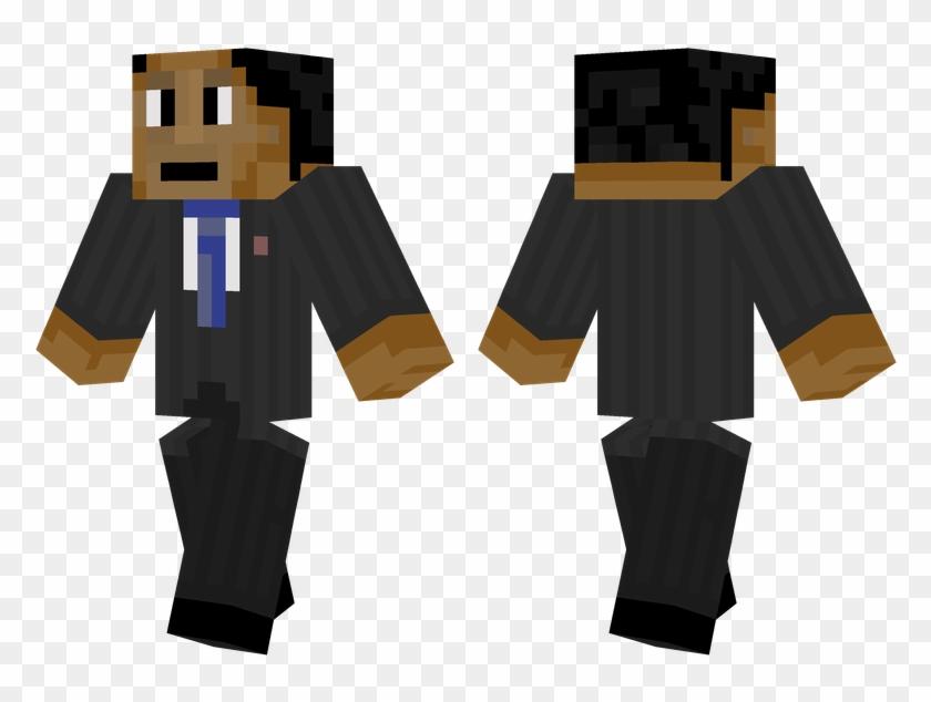 Barack Obama Minecraft Pro Steve Skin Hd Png Download