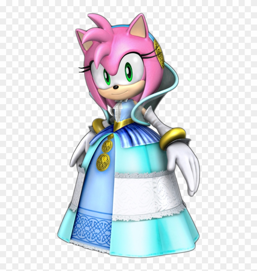 Sonic The Hedgehog Sonic Black Knight Amy Hd Png Download 500x860 1611179 Pinpng