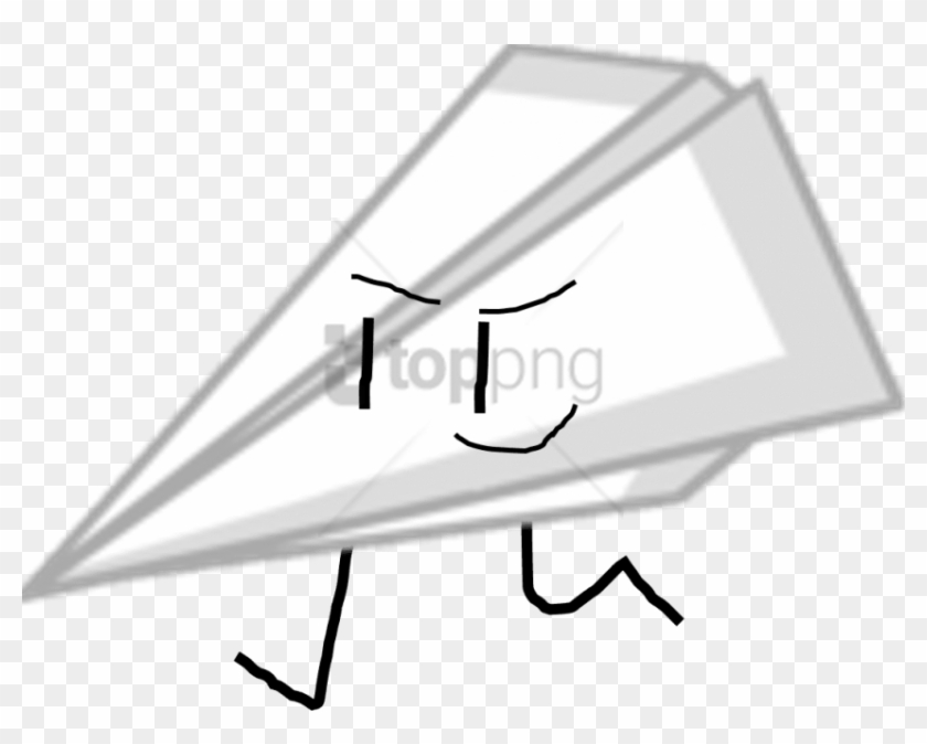 Free Png Download Paper Airplane Bfdi Png Images Background Bfdi