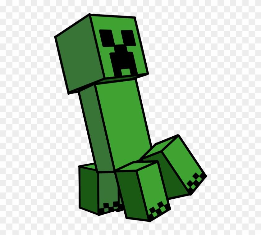 Minecraft Creeper Png Transparent Png 515x688 1696888