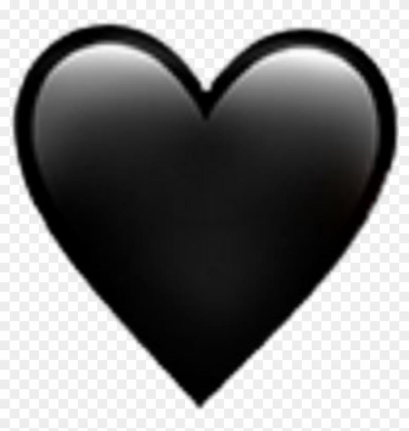 Black Heart Emoji Iphone Black Heart Emoji Iphone Black Whatsapp Emoji Black Heart Hd Png Download 1024x1024 1697375 Pinpng
