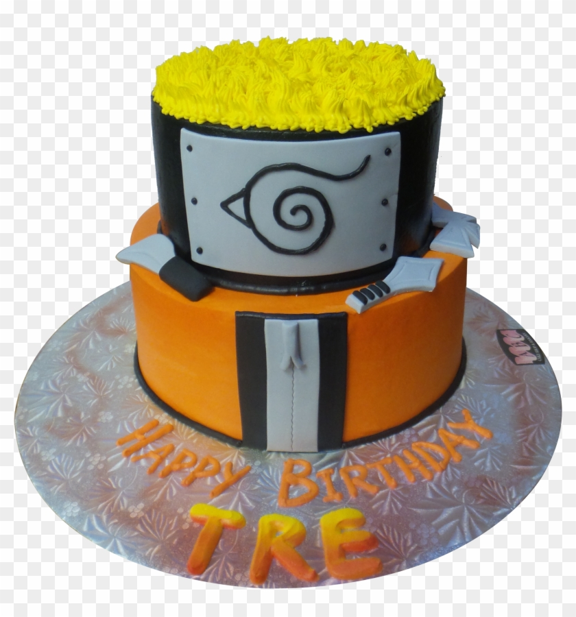 Phenomenal Naruto 2 Tier Cake Birthday Cake Naruto Png Transparent Png Funny Birthday Cards Online Inifodamsfinfo