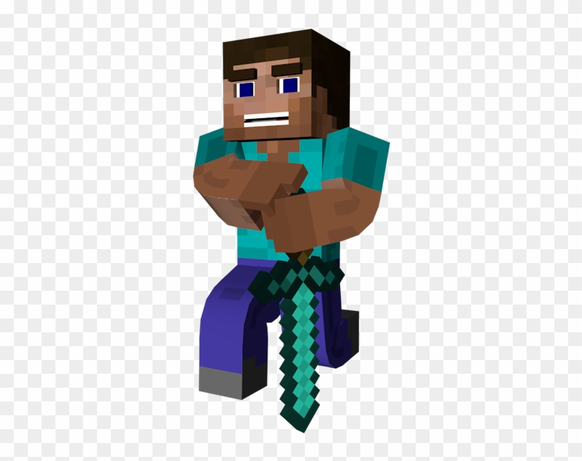Image Result For 3d Steve Minecraft Skin With Diamond Bullying Is Not Tolerate Hd Png Download 800x600 177890 Pinpng