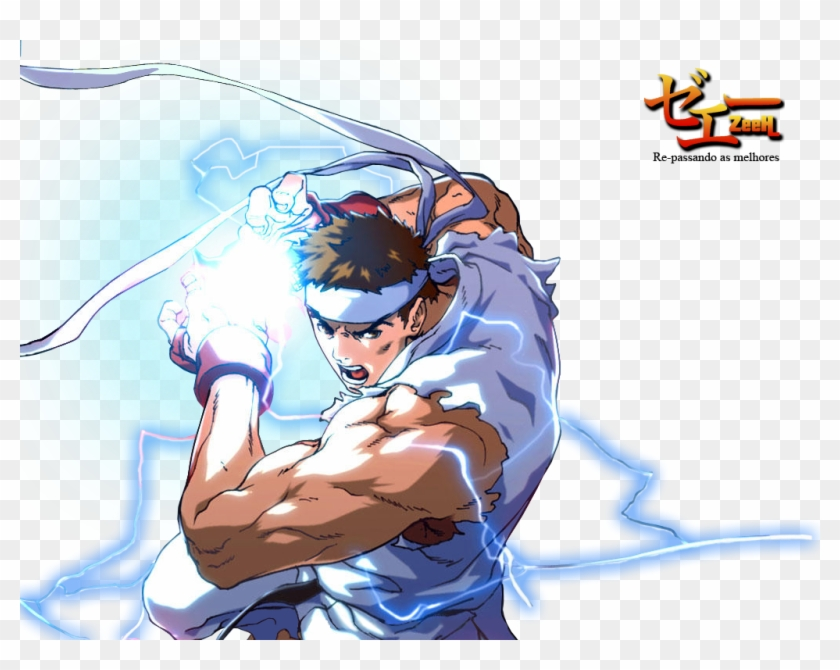 Ryu Render Photo Street Fighter Alpha Generations Hd Png Download 1024x768 1783365 Pinpng