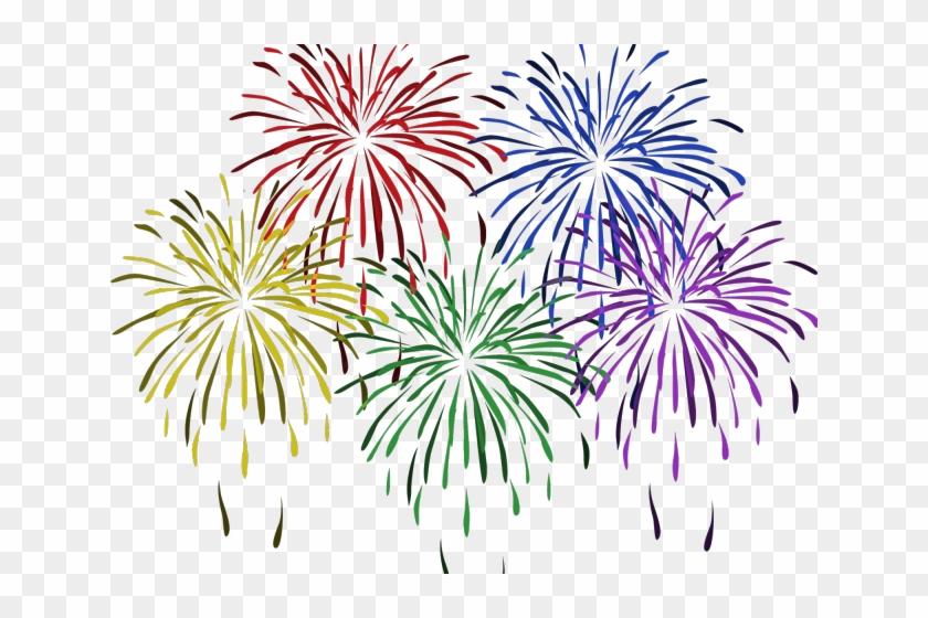 Fireworks vector. Clipart png firework
