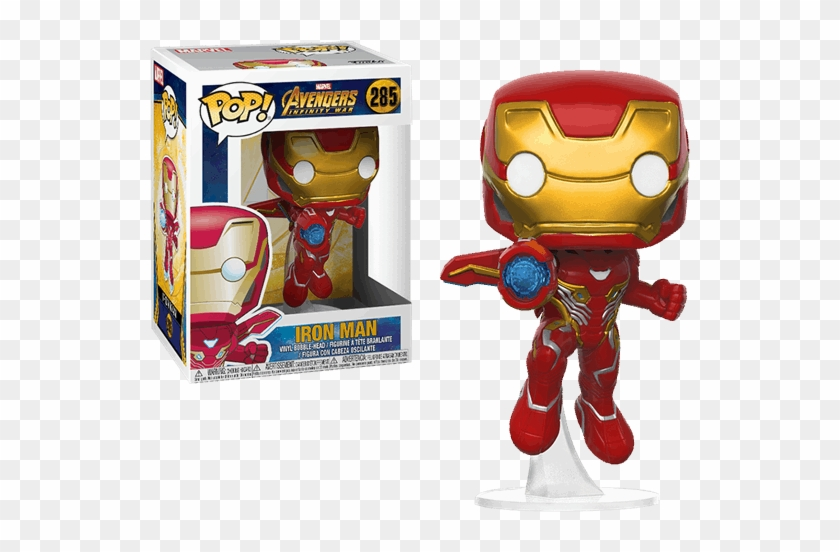 Vinyl Figure Features Iron Man As He Appears In The - Iron