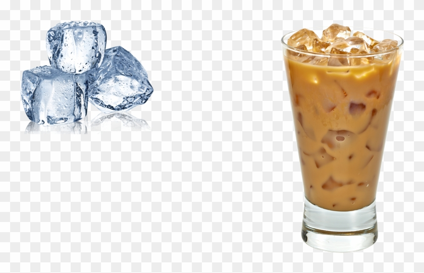 Iced Coffee Coffee Ice Png Transparent Png 910x500