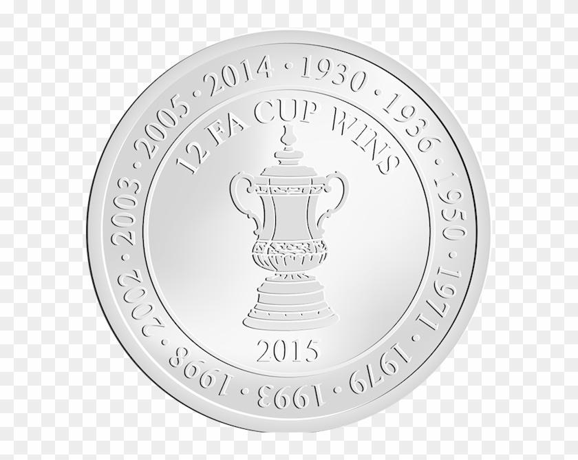 London 12 Fa Cup Wins Arsenal Fc Illustration Hd Png Download 600x587 1858816 Pinpng