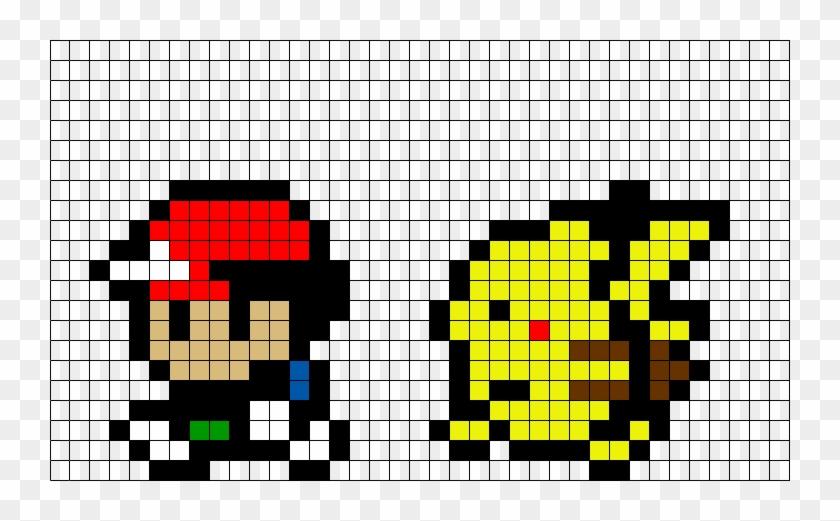 Pixle Art Grid Tepig