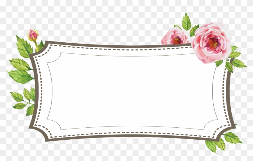 Floral Wedding Frame Geofilter Garden Roses Hd Png Download 1080x1920 1905640 Pinpng